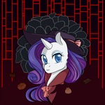 Detective Rarity by Grandpa-Taco