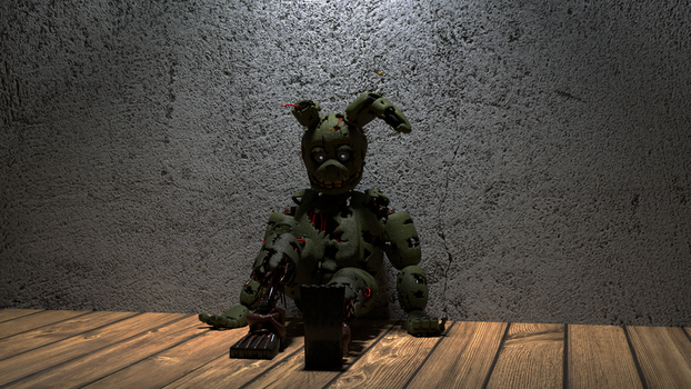 [BlenderCycles] Springtrap Test by half5life
