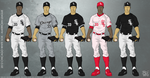 Chicago White Sox 2012 Uniforms by JayJaxon