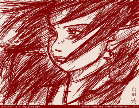 Tegaki Crying Elf by ppn