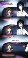 Jeff and Sally : Candle Cove - Comic by tetomokun