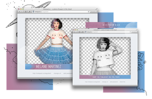 Pack png 947 // Melanie Martinez. by ExoticPngs