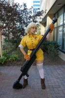 Eurobeat King- AUSA- Seras 6 by DustbunnyCosplay