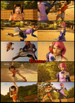 TBV - Xiaoyu vs Alisa 2 new by Tekkenka