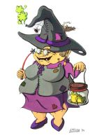 Nanny Ogg by Holly-Toadstool