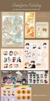 Comifuro Catalog by laverinne