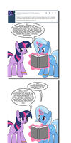 Ask Twixie Tumblr #437 by Dekomaru