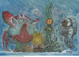SpongeBob StrangePants by Dubisch