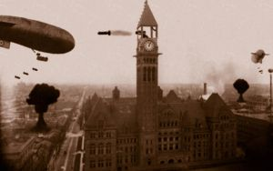 When Dirigibles Attack by mszafran