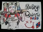 Harley Quinn Commission by xXdrawingguyXx
