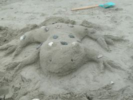 Felipe the Sand-Frog by GodofPH