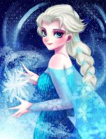 Elsa by nyamuneko