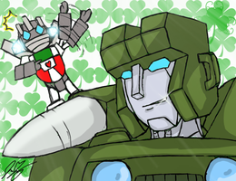 Kiss Me I'm Cybertronian by TaintedTamer