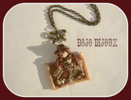Western Map Necklace by Bojo-Bijoux