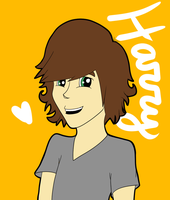 One Direction: Harry by StupidClue