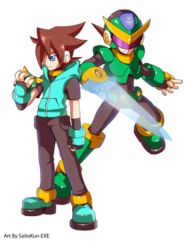 Commission: Voile and Mega Man Model RS by SaitoKun-EXE