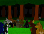 Warrior Cats/The Walking Dead Crossover by XxPan-Demon-IumxX