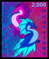 2,000 Pageviews by kzinrret