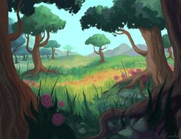 Forest Edge by Neanderthal-Jam