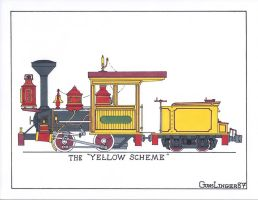 BTMt. 0-4-0 Yellow Scheme by gunslinger87