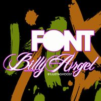 FONT BILLY ARGEL by justaghoost