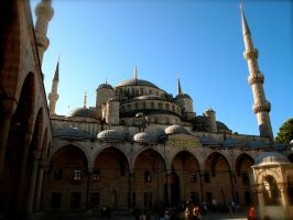 Step inside the Blue Mosque by jacobjellyroll