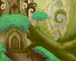 Forest of Voices - Old Temple by shadowthecat971