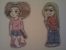 Jazmine and Cindy: The Boondocks Girls by Millie-Rose13