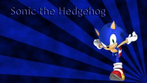 Sonic the Hedgehog Wallpaper by JanetAteHer