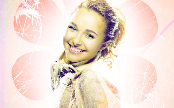 Hayden Panetierre Background by KaylaAnnBunny