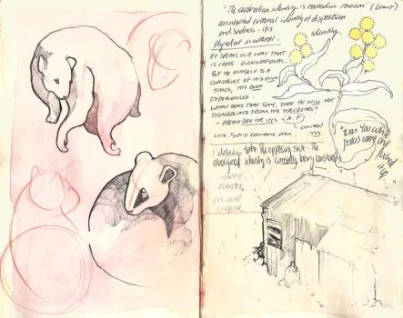 Sketchbook pages # 3 by PaperandDust