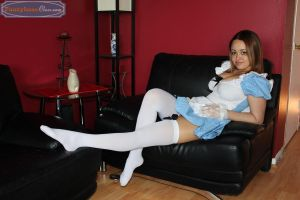 Olivia in Wonderland by PantyhoseClass