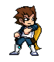 West idle animation by Hero-in-Pixels