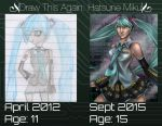 Draw This Again: Hatsune Miku by CosmicIllustration
