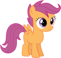 Scootaloo neutral by Myardius