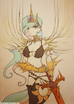 Korean MMO Celestia (original art for sale) by FoxInShadow