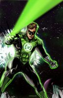 Green Lantern by monoguru
