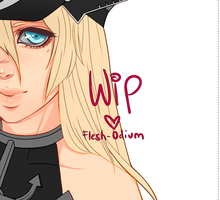 Commission Wip/Tease by Flesh-Odium