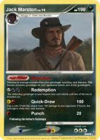 Jack Marston Pokemon Card by MattJeevasLover