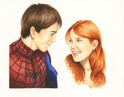Peter Parker and Mary Jane (In Progress) by smlshin