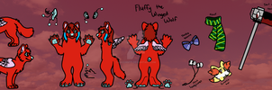 [COMMISSION] Fluffy Reference Sheet by CassMutt