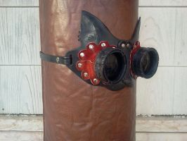 Cat Goggles by Leatherfanshop