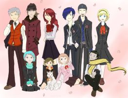 persona 3 COLORING by Descending-dragon