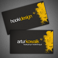 business card - hooki design by hooki