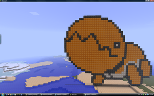 Minecraft trapinch by Nyeep
