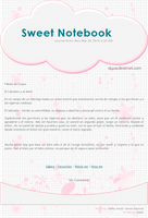 Sweet Notebook Journal Skin by Alywe