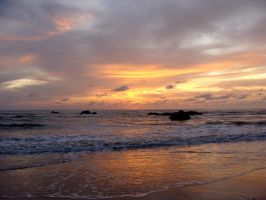 Sunset in Thailand by BeatrixW