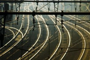 Railroad Wires 1603801 by StockProject1