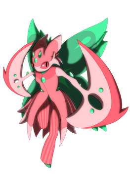 Lurantis Mega 2 (No Background) by Ghost-Troupe