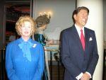 Margaret Thatcher and Ronald Reagan by blackroselover